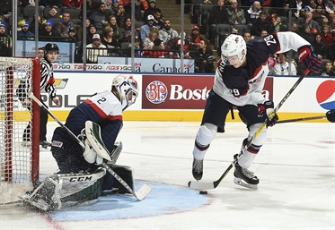 Americans look sharp in 5-2 win