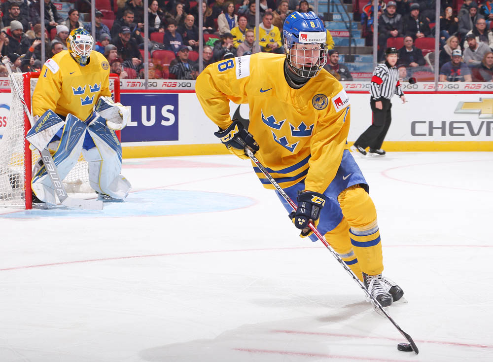 rasmus dahlin 2017 iihf world junior chionship