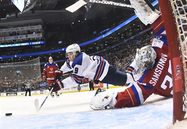 U.S. hangs tough to beat Russia