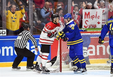 Sweden, Canada set to tango